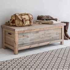 Rustic DIY Storage Bench Ideas 08
