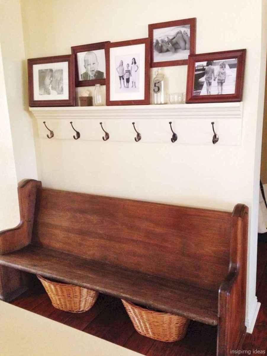 Rustic DIY Storage Bench Ideas 09