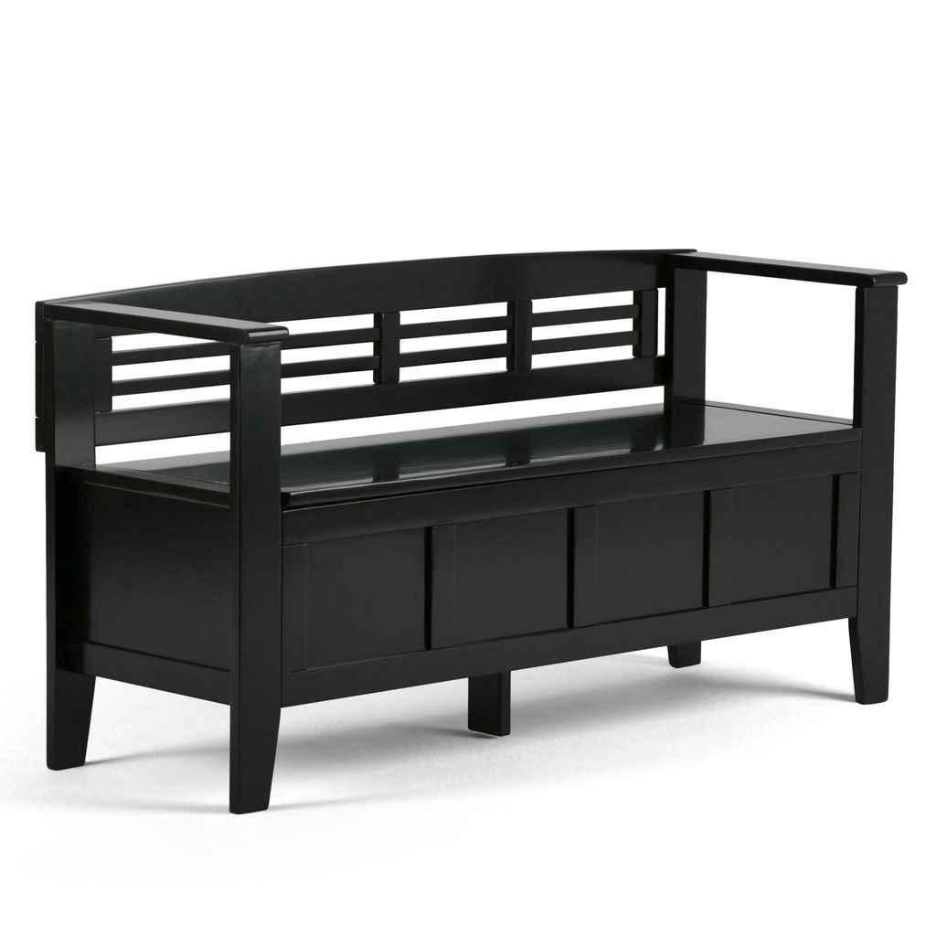 Rustic DIY Storage Bench Ideas 10