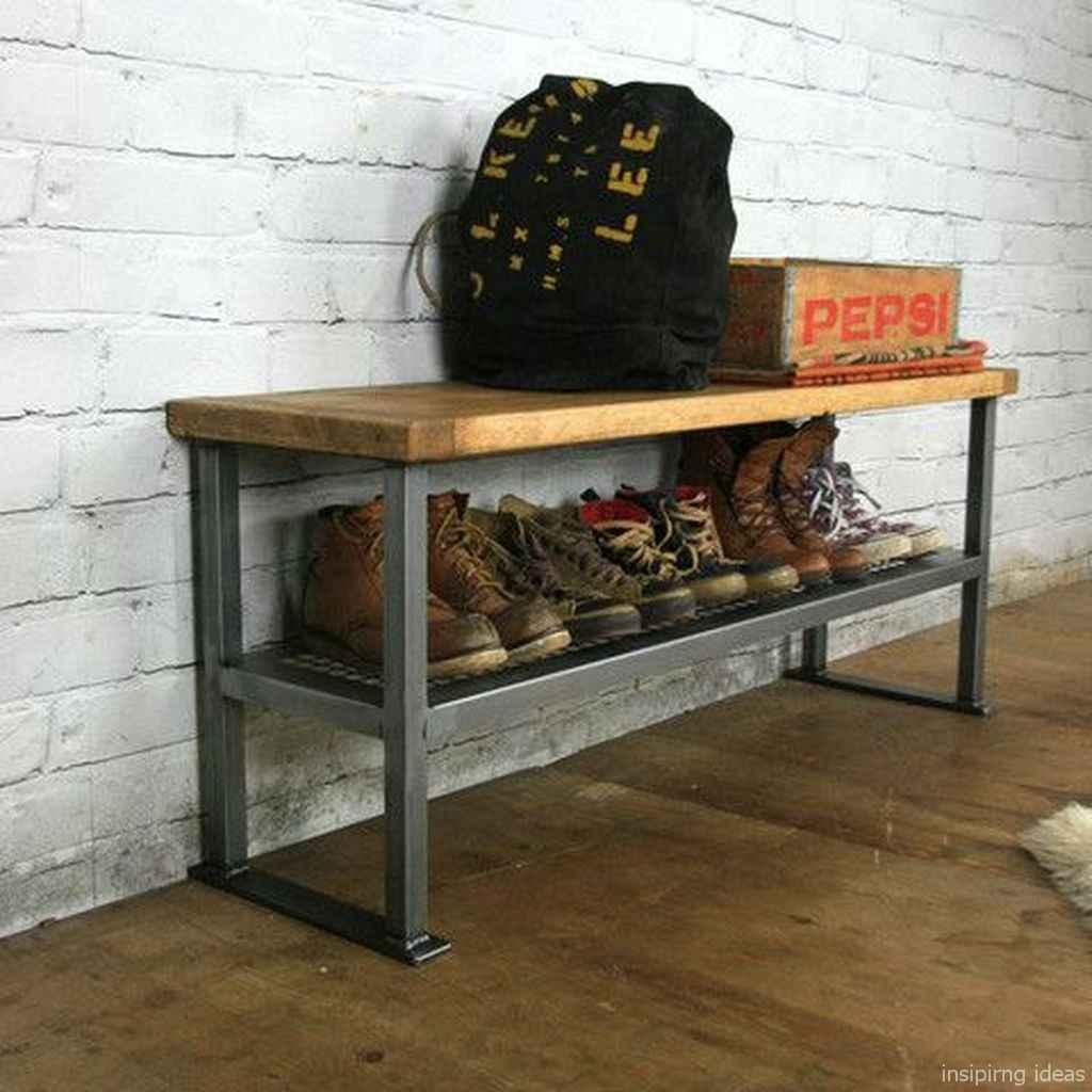 Rustic DIY Storage Bench Ideas 16