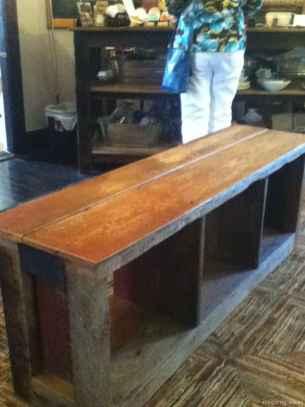 Rustic DIY Storage Bench Ideas 24