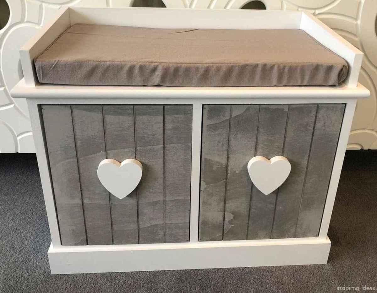 Rustic DIY Storage Bench Ideas 27
