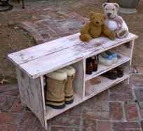 Rustic DIY Storage Bench Ideas 33