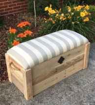 Rustic DIY Storage Bench Ideas 43