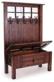 Rustic DIY Storage Bench Ideas 54