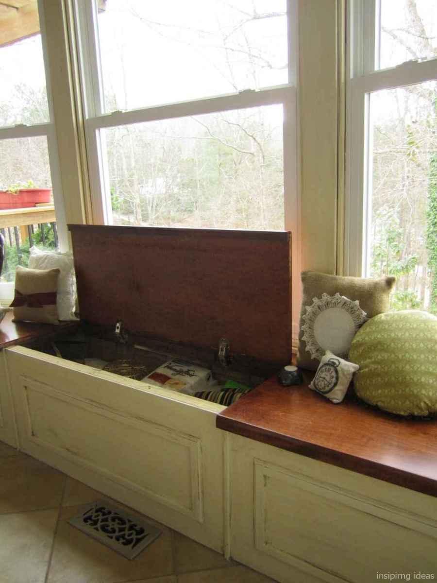 Rustic DIY Storage Bench Ideas 56