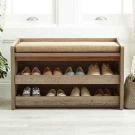 Rustic DIY Storage Bench Ideas 61