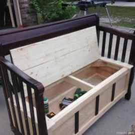 Rustic DIY Storage Bench Ideas 62