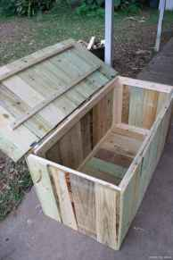 Rustic DIY Storage Bench Ideas 68