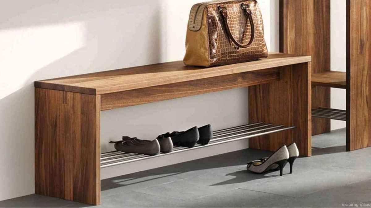 Rustic DIY Storage Bench Ideas 73