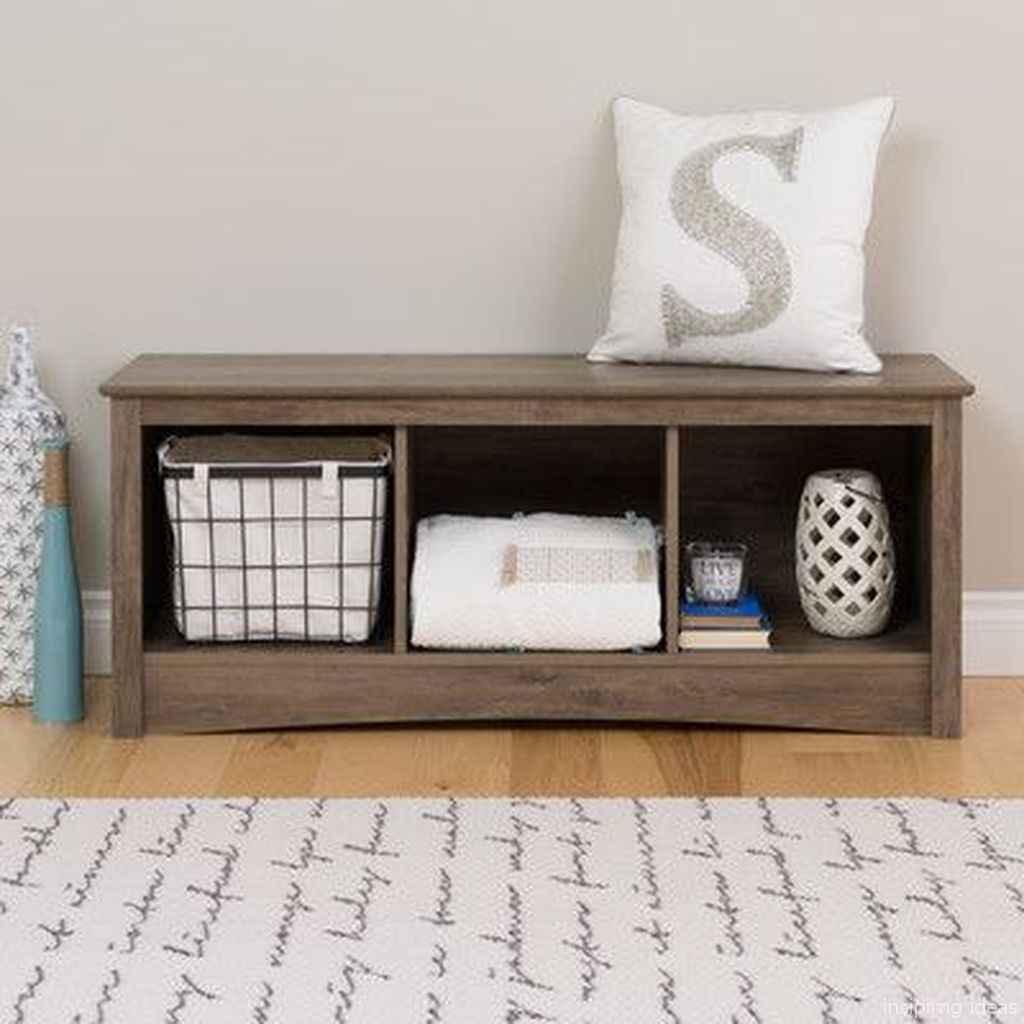 Rustic DIY Storage Bench Ideas 81