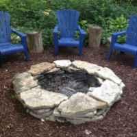 100+ Cheap Backyard Fire Pits Design 36