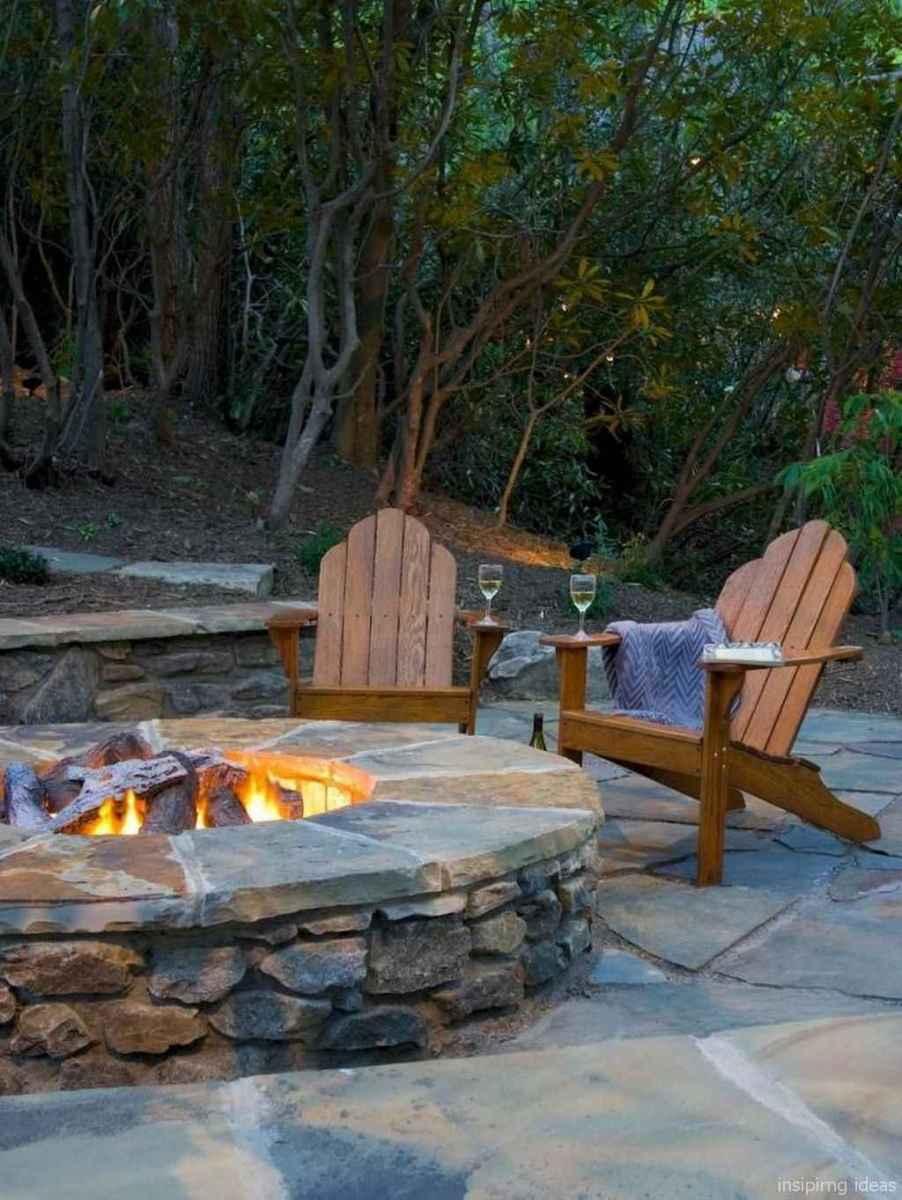 100+ Cheap Backyard Fire Pits Design 42