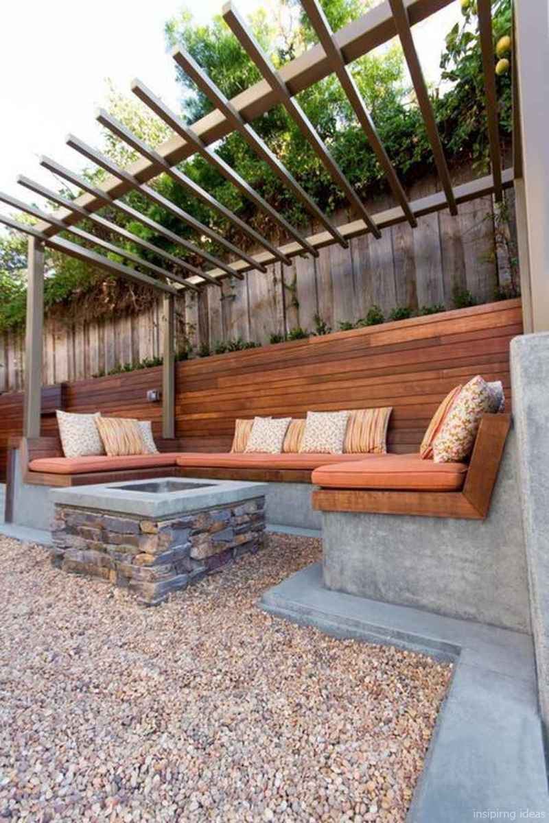 100+ Cheap Backyard Fire Pits Design 50