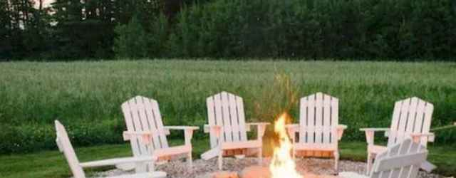100+ Cheap Backyard Fire Pits Design 78