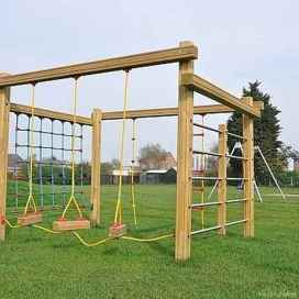16 Backyard Playground Design Ideas