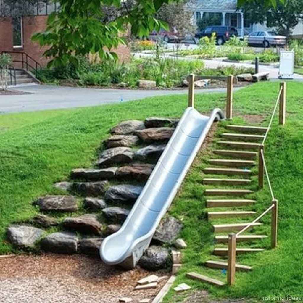 22 Backyard Playground Design Ideas