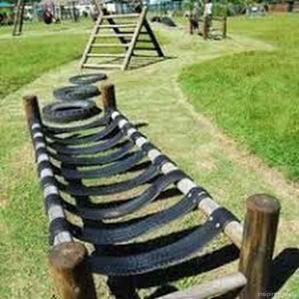 35 Backyard Playground Design Ideas
