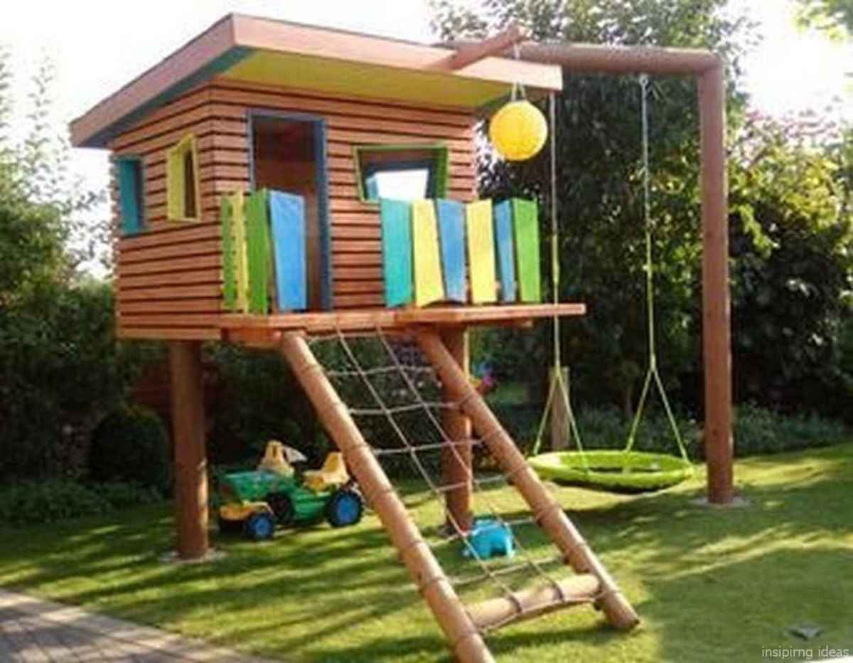 56 Backyard Playground Design Ideas