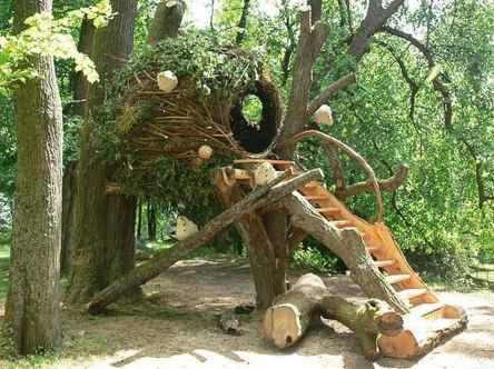 65 Backyard Playground Design Ideas