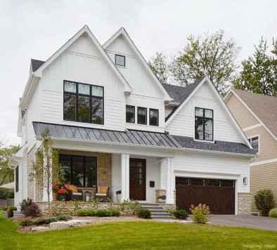 71 Incredible Modern Farmhouse Exterior Color Ideas