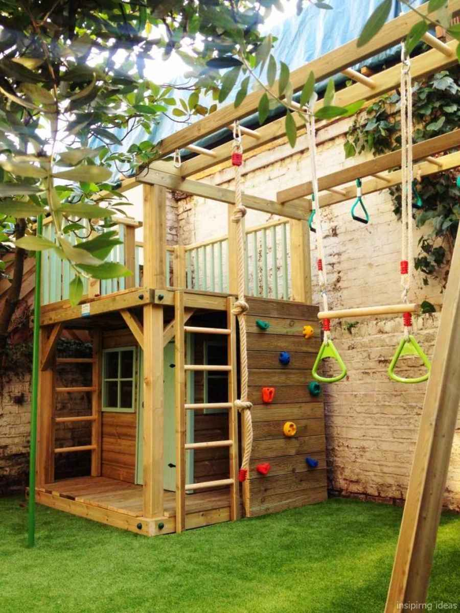 76 Backyard Playground Design Ideas