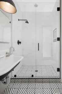 77 Fabulous Modern Farmhouse Bathroom Tile Ideas 58