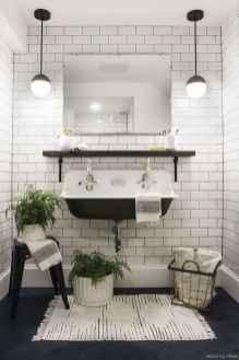 77 Fabulous Modern Farmhouse Bathroom Tile Ideas 72