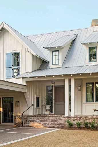 86 Incredible Modern Farmhouse Exterior Color Ideas