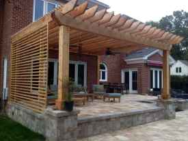 Fabulous Patio Ideas with Pergola 39