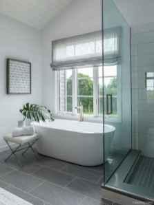 37 Best Modern Farmhouse Master Bathroom Design Ideas