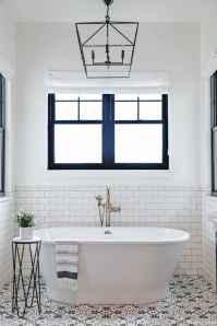 38 Best Modern Farmhouse Master Bathroom Design Ideas