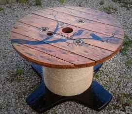 39 DIY Upcycled Spool Project Ideas for Outdoor Furniture