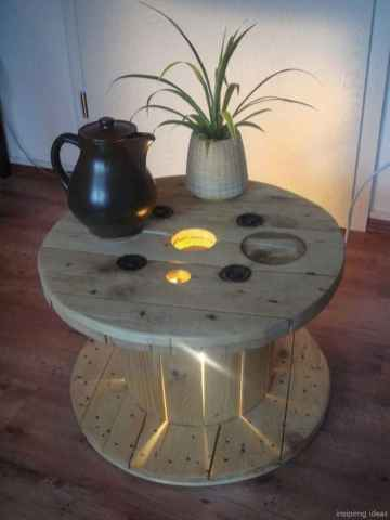 40 DIY Upcycled Spool Project Ideas for Outdoor Furniture