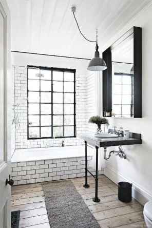 45 Best Modern Farmhouse Master Bathroom Design Ideas