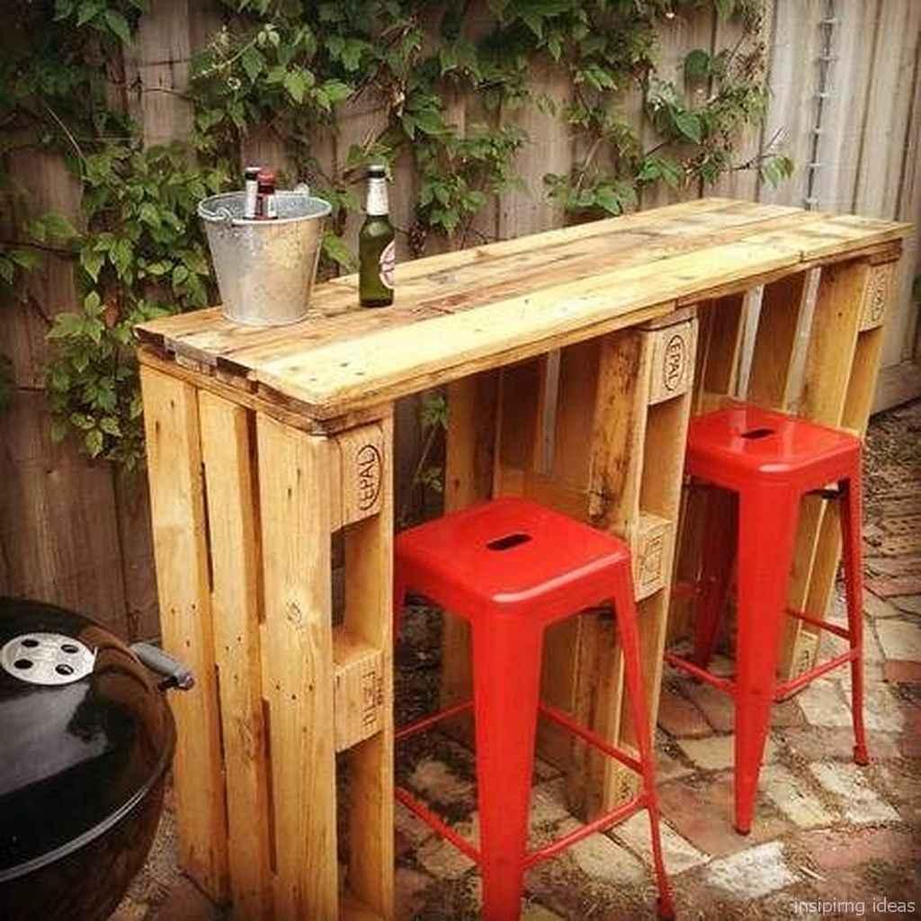 47 Nice DIY Pallet Bar Design Ideas