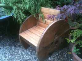 48 DIY Upcycled Spool Project Ideas for Outdoor Furniture