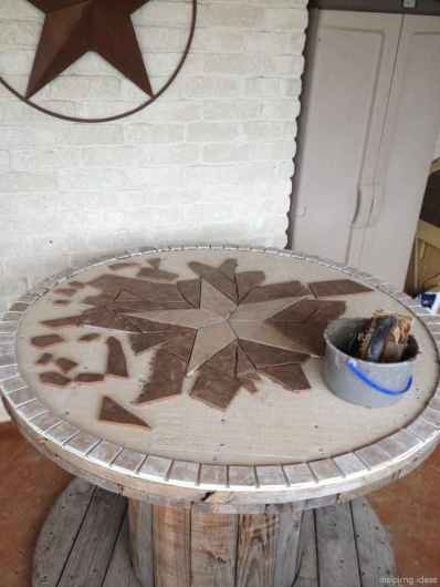 56 DIY Upcycled Spool Project Ideas for Outdoor Furniture