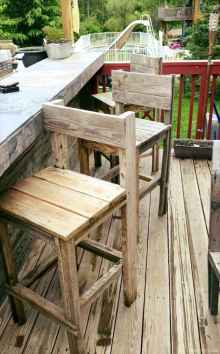 66 Nice DIY Pallet Bar Design Ideas