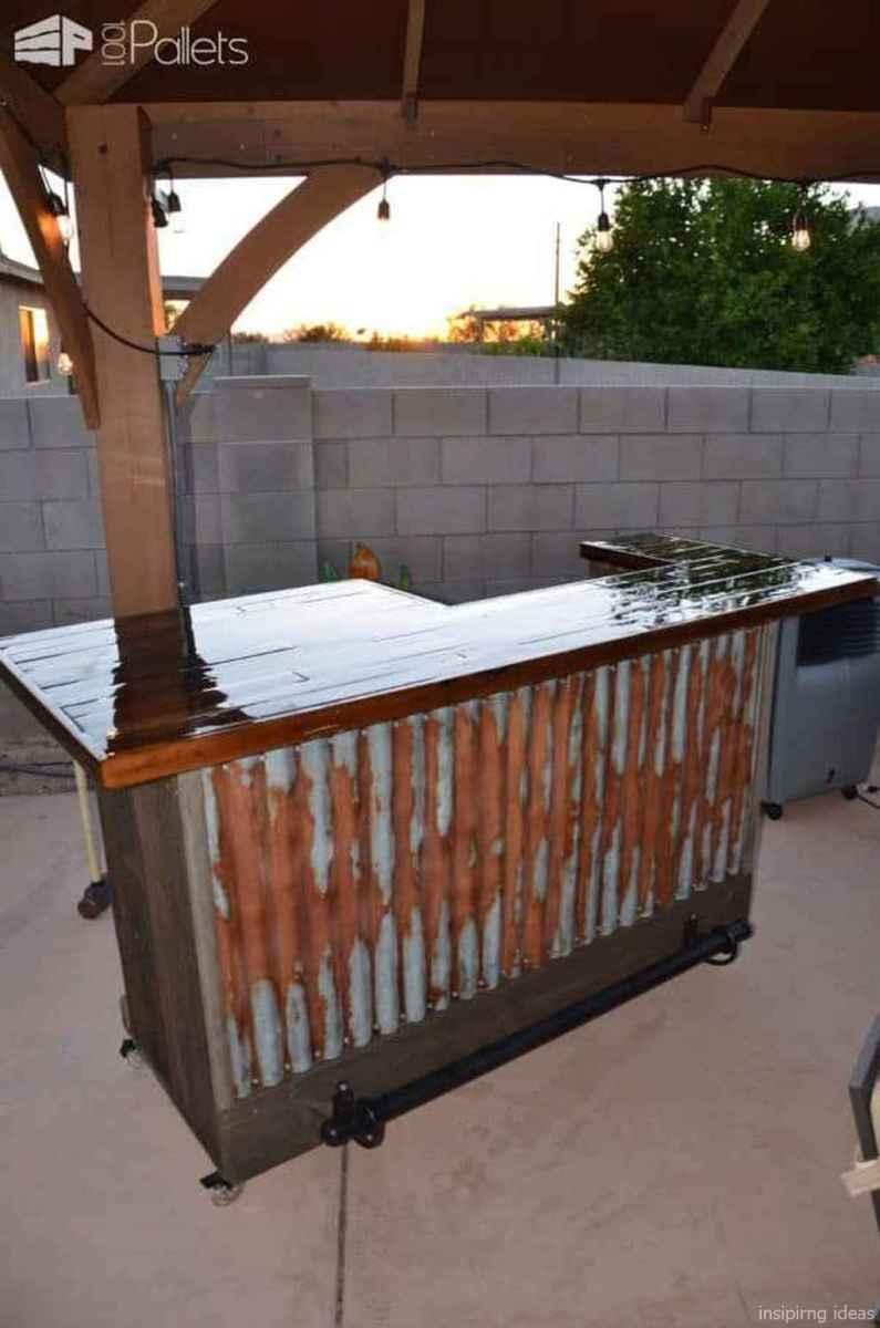 70 Nice DIY Pallet Bar Design Ideas