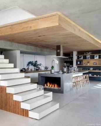 Awesome Modern Open Concept Kitchen Design Ideas 64