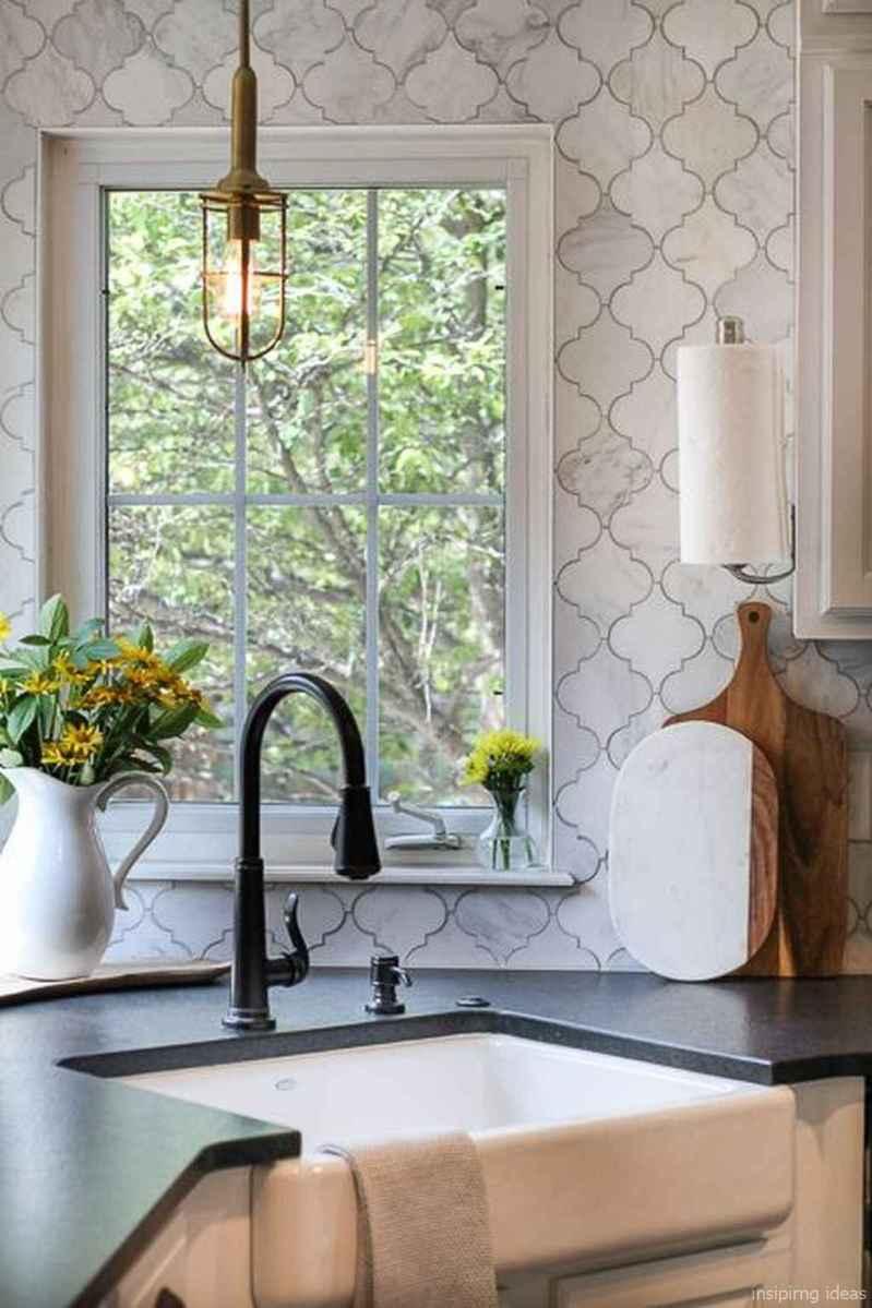 Modern Farmhouse Kitchen Backsplash Design Ideas 17