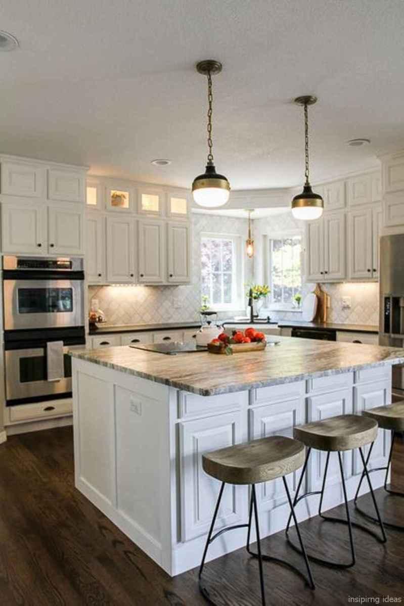Modern Farmhouse Kitchen Backsplash Design Ideas 36