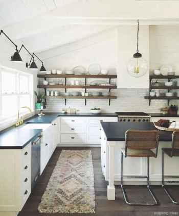 Modern Farmhouse Kitchen Backsplash Design Ideas 58