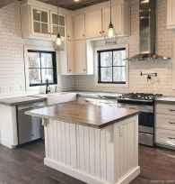 Modern Farmhouse Kitchen Backsplash Design Ideas 67