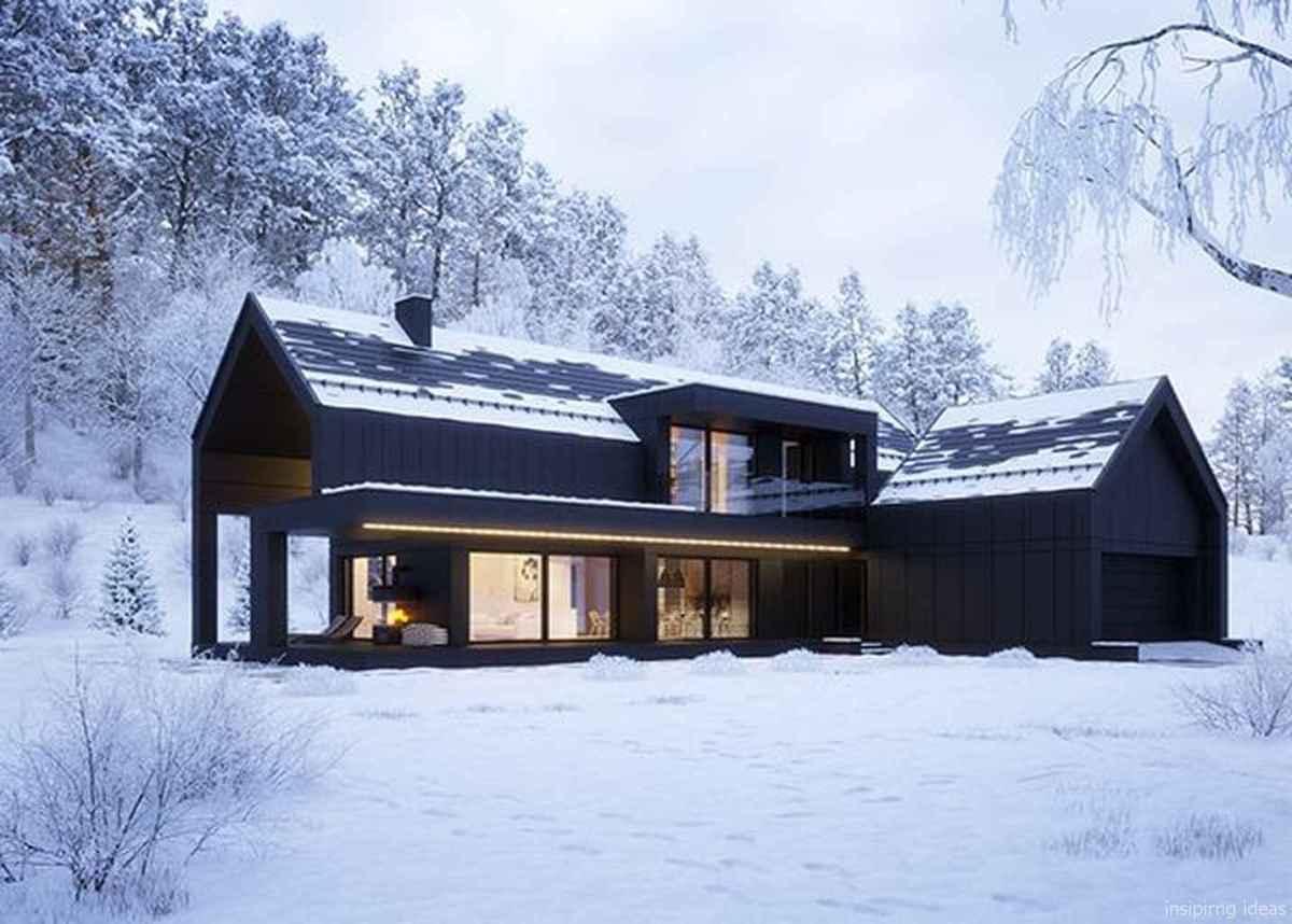 08 Modern Small Farmhouse Exterior Design Ideas