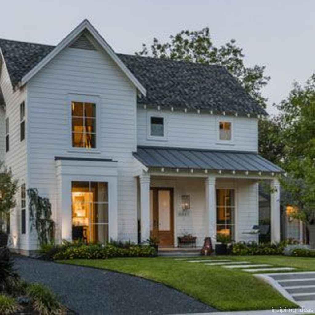 51 Modern Small Farmhouse Exterior Design Ideas