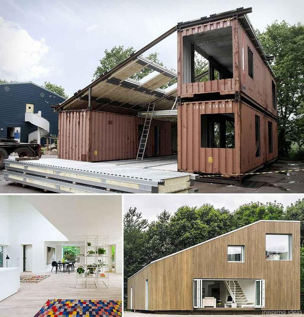 73 Genius Container House Design Ideas