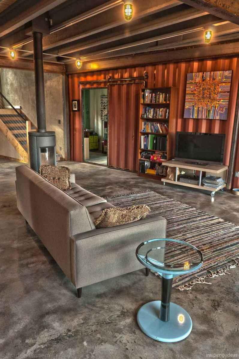 22 Unique Container House Interior Design Ideas