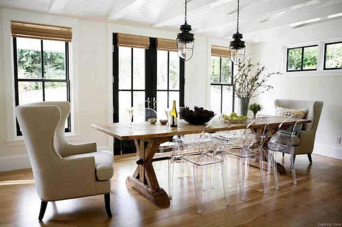 24 Beautiful Modern Farmhouse Dining Room Decor Ideas